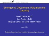 8130 - Center for State Health Policy