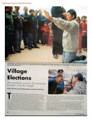 Village Elections - Lijia Zhang