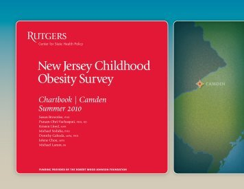 New Jersey Childhood Obesity Survey - Center for State Health ...
