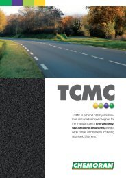 TCMC is a blend of fatty imidazo- lines and ... - Chemoran