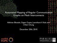 Automated Mapping of Regular Communication Graphs on Mesh ...
