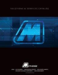 Methode Data Solutions Catalog 2013 - Methode Electronics, Inc.