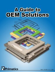 Guide to OEM Solutions - Primatics