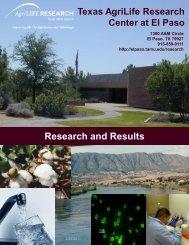 TAMU Factsheets - New Mexico State University