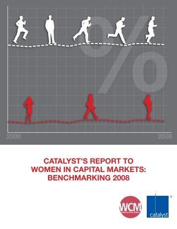 BenChmaRking 2008 - Women in Capital Markets