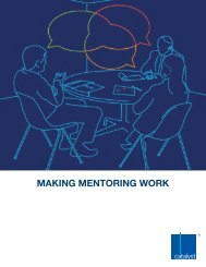 Making Mentoring Work - Catalyst