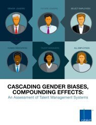 Cascading gender biases, compounding effects: An ... - Catalyst