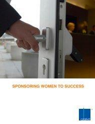 SPONSORING WOMEN TO SUCCESS - Catalyst