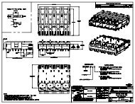 SFP Four-Port Lightpipes Engineer Drawing