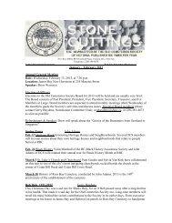 Jan/Feb 2013 - Old Cemeteries Society of Victoria
