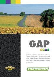 GAP est un mélange de molécules azotées à chaînes ... - Chemoran
