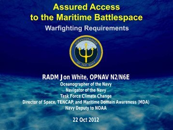 Assured Access to Maritime Battlespace - Defense Innovation ...