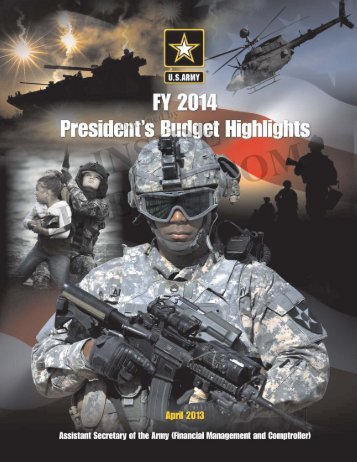 Proposed FY14 Army Budget - Defense Innovation Marketplace