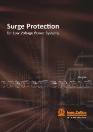 Iskra Zascite - Low Voltage Power Systems
