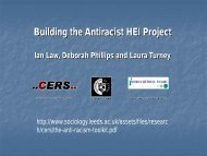 PowerPoint: Building the Antiracist HEI Project - Sociology and ...