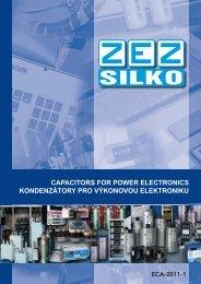 capacitors for power electronics kondenzátory pro výkonovou ...
