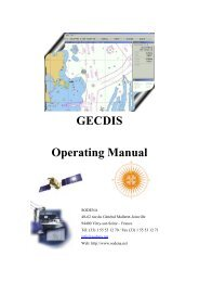 GECDIS Operating Manual - Seatech