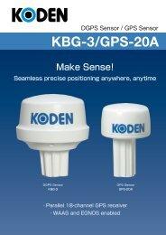 KBG-3/GPS-20A - Seatech