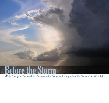 Before the Storm - MDC