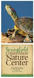Springfield Conservation Nature Center - Missouri Department of ...