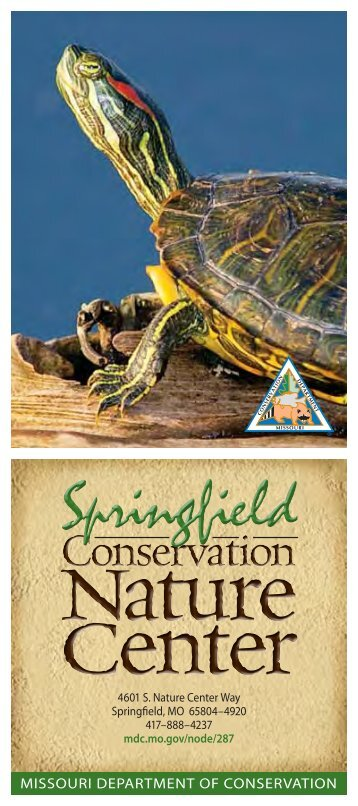 Springfield Conservation Nature Center - Missouri Department of ...