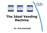 The Ideal Vending Machine