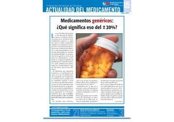 Medicamentos genéricos: ¿Qué significa eso ... - Ibanezyplaza.com