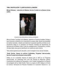 TEMA: IDENTIFICACIÓN Y CLASIFICACION DE LA MADERA ... - ICF