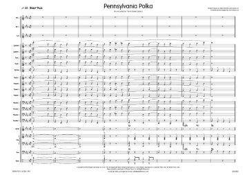 Pennsylvania Polka - published score sample ... - Lush Life Music