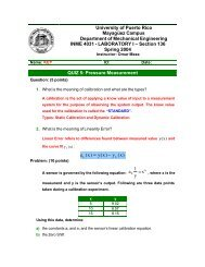 Quiz5-Sol - Mechanical Engineering Department at UPRM