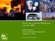 Nathanael Greene - Natural Resources Defense Council