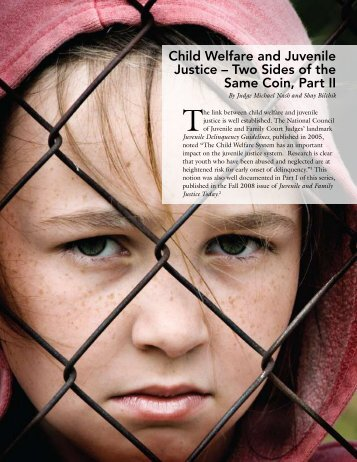 Child Welfare and Juvenile Justice – Two Sides of ... - National CASA