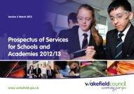 Prospectus of Services for Schools and Academies ... - itslearning