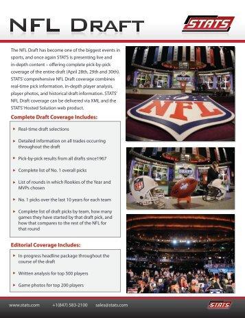 NFL Draft - Stats
