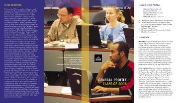 Brochure - University of Virginia School of Law