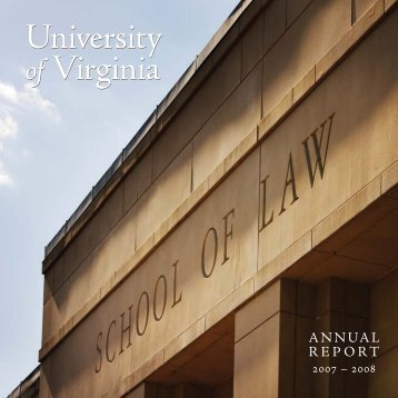 PDF of the entire report - University of Virginia School of Law