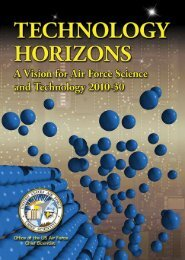 Air Force Technology Horizons 2010-2030 - Defense Innovation ...