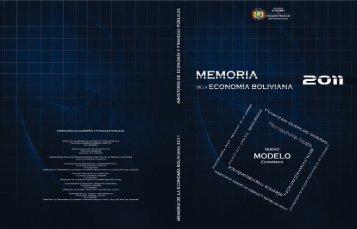 Memoria de la Economía Boliviana 2011.pdf - Ministerio de ...