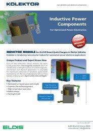 Inductive Power Components - ELDIS Ehmki, Schmid OHG