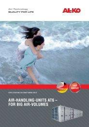AIR-HANDLING-UNITS AT6 – FOR BIG AIR-VOLUMES - AL-KO