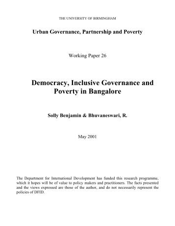 democracy and poverty in india With a population of more than 12 billion, india is the world's largest democracy over the past decade, the country's integration into the global economy has been accompanied by economic growth.