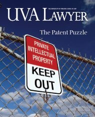 The Patent Puzzle - University of Virginia School of Law