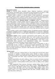 Rozvoj logického a funkčního myšlení v matematice - Pf UJEP