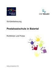 Informationsblatt - Stadt Wiesloch