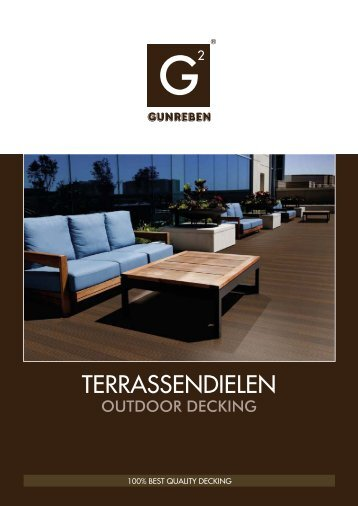 Terrassendielen aus Holz und WPC