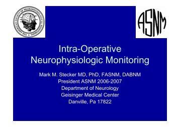 Intra-Operative Neurophysiologic Monitoring [Modo de ... - It works!