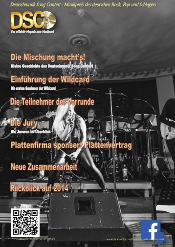 Deutschmusik-Song-Contest-Magazin