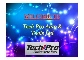 Tech Pro Auto & Tools Ltd