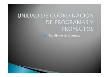 Rendición de Cuentas - Ministerio de Economía y Finanzas Públicas