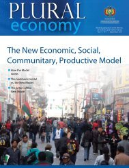 The New Economic, Social, Communitary, Productive Model